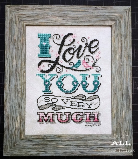 Stitch ALL The Things | Stitchrovia I Love You So Very Much