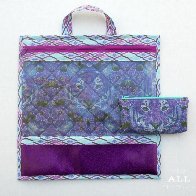Stitch ALL The Things | Project Bag Crouching Tiger in Purple