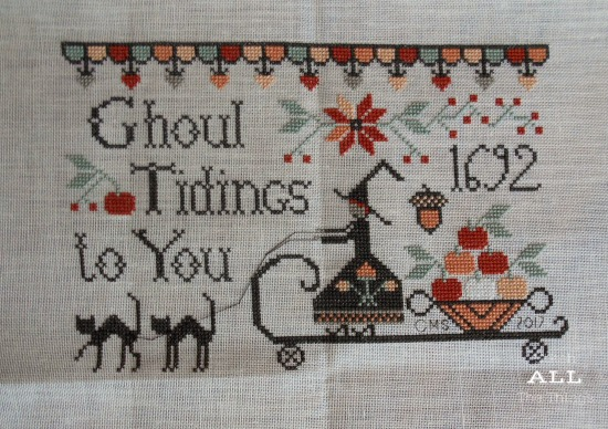 Stitch ALL The Things | Ghoul Tidings Finish