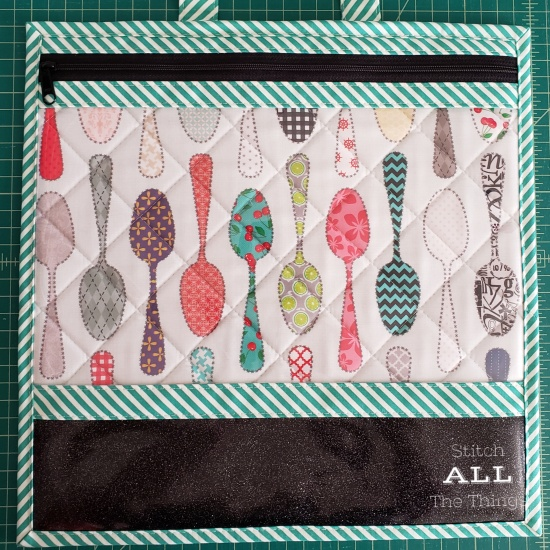 Stitch ALL The Things | Spoon Quilt Project Bag