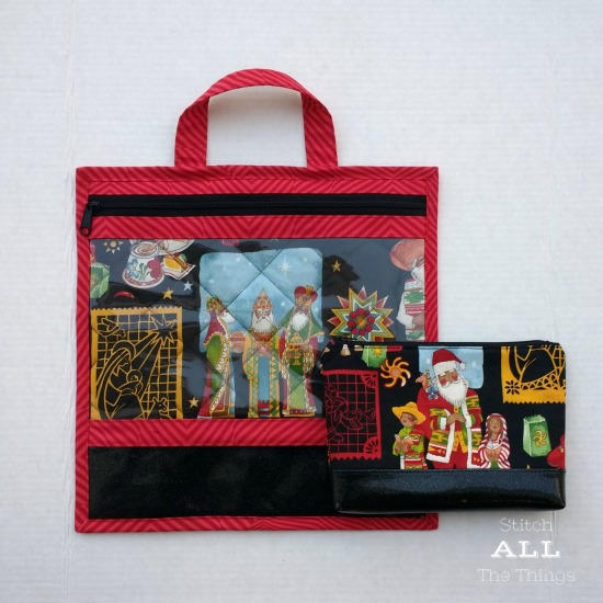 Stitch ALL The Things | Los Tres Reyes Project Bag